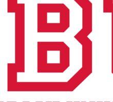 SBU & Stony Brook University - ATHLETIC-2/BRIGHT RED Sticker