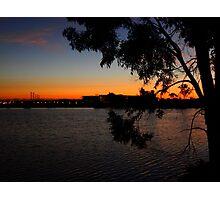 Hidden Sunset Photographic Print