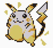 Pokemon 025 Pikachu (Red&Blue Ver.) by Quesadillan64