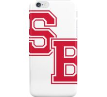 SBU - ATHLETIC/BRIGHT RED iPhone Case/Skin