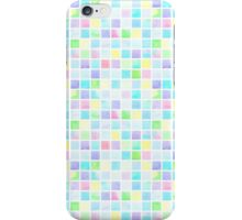 Watercolor square pattern iPhone Case/Skin