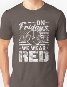 On Fridays We Wear Red  T-Shirt