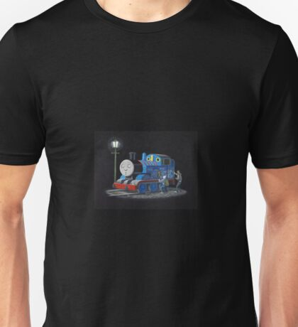 Thomas The Tank Engine - Banksy Artwork Unisex T-Shirt