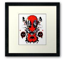 Deadpool Jack Of All Trades Framed Print