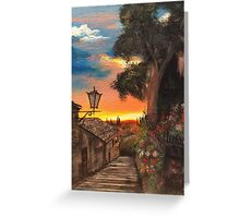 Tuscan Hills Greeting Card