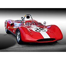1961 Huffaker Genie Vinage FIA Racecar Photographic Print