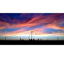 Exmouth sunset. Photographic Print
