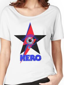 """David Bowie """"Hero"""" Women's Relaxed Fit T-Shirt"""