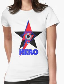 "David Bowie ""Hero"" Womens Fitted T-Shirt"