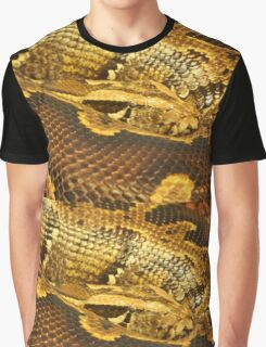 Boa constrictor Up Close Graphic T-Shirt