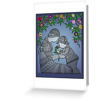 Motherhood - The Rose Greeting Card