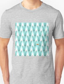 Cat in pine forest T-Shirt