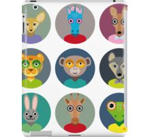 Animals faces  iPad Case/Skin