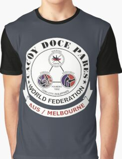 Cacoy Doce Pares Melbourne Graphic T-Shirt