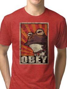 Ipnotoad obey Tri-blend T-Shirt