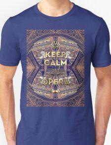 Keep Calm and Go to the Opera Garnier Paris T-Shirt