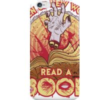 Read a Damned Book iPhone Case/Skin