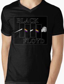 Black Floyd Mens V-Neck T-Shirt