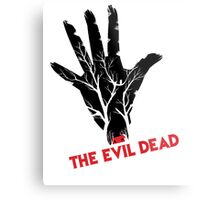 the evil dead game logo Metal Print
