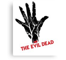 the evil dead game logo Canvas Print