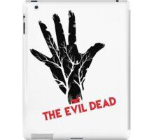 the evil dead game logo iPad Case/Skin