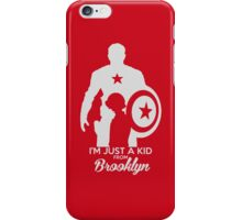 i'm just a kid a from brooklyn iPhone Case/Skin