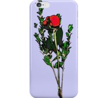 When The Last Petal Falls iPhone Case/Skin