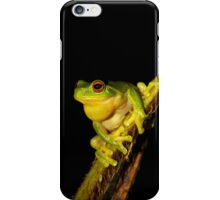 Red Eyed Tree Frog - Litoria chloris iPhone Case/Skin