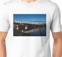 British Symbols and Landmarks - Blackfriars Railway Bridge in London, England Unisex T-Shirt