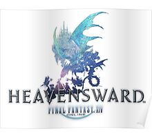 Final Fantasy XIV Heavensward Logo Poster
