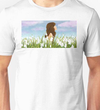 Snowdrops Unisex T-Shirt