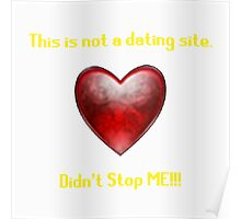 Not a Dating Site Poster