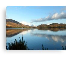 Loch Linnhe on a Winter Day Canvas Print