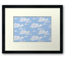 Blue Skies II Framed Print