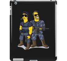 Sylvester Stallone and Arnold Schwarzenegger iPad Case/Skin