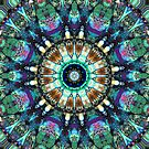 Stained Glass Abstract by Phil Perkins