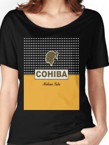 Cohiba Havana Cuba Cigar Logo Women's Relaxed Fit T-Shirt