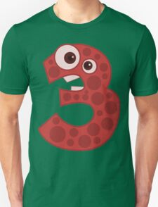 3 - Three Creature Unisex T-Shirt