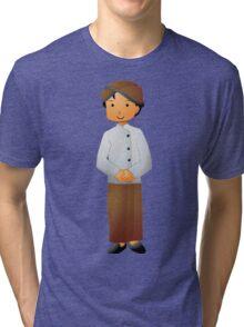 Traveler Kids - Traditional Dress Edition - Javanese Tri-blend T-Shirt