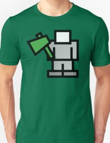 Pixel Game 8Bit Woodcutter / Woodchopper T-Shirt