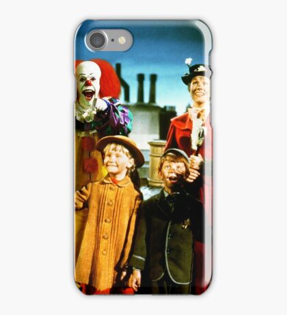 PENNYWISE IN MARY POPPINS iPhone Case/Skin