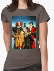 PENNYWISE IN MARY POPPINS Womens Fitted T-Shirt