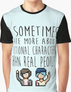 Life Is Strange (I sometimes care more about fictional characters than real people) Graphic T-Shirt