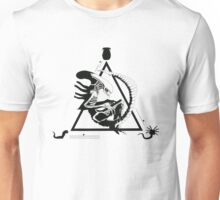 Alien, movies, ufo, illustration Unisex T-Shirt