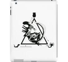 Alien, movies, ufo, illustration iPad Case/Skin