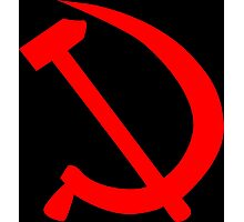 Hammer And Sickle Photographic Print