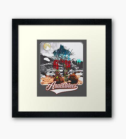 Luminosity ~ Anachrotees' Design Framed Print