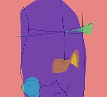 A Purple Shield by masabo