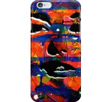 BROKEN MAKEUP IV iPhone Case/Skin
