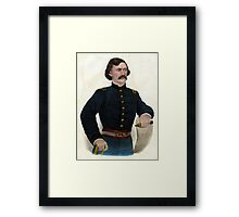 Col. Jas. A. Mulligan - Of the Illinois Irish Brigade - 1879 - Currier & Ives Framed Print